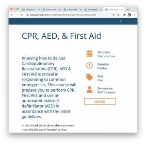 CPR Landing Page