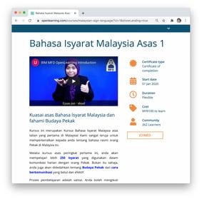 Sign Language Landing Page