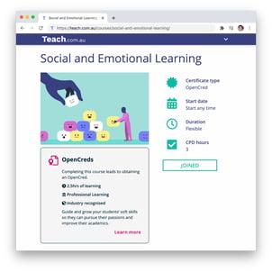 Teach.com.au Landing Page