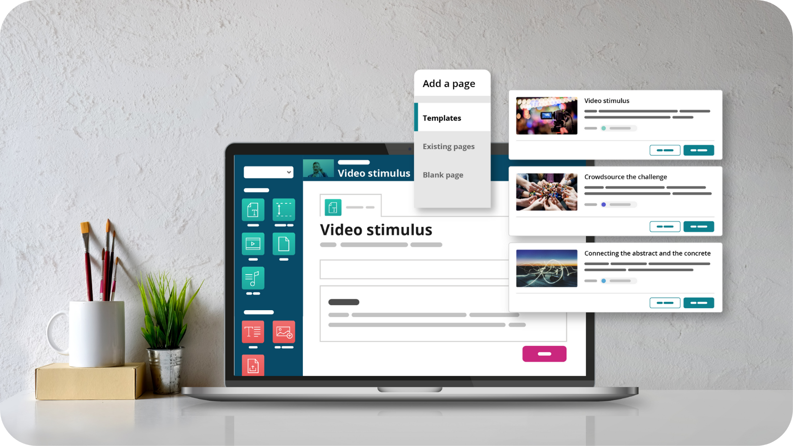 OpenLearning page templates feature preview